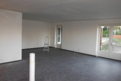 Latexspuiten appartement