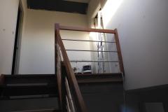 Latexspuiten trappenhuis